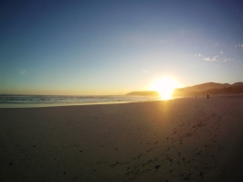 Grotto Beach sunset